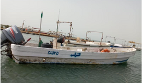 قارب صيد للبيع