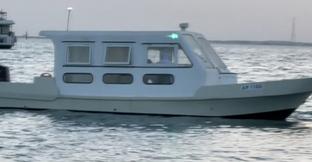 Cabin boat Yamaha