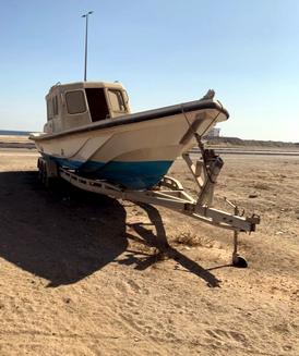 قارب 38 قدم مع القالوصه