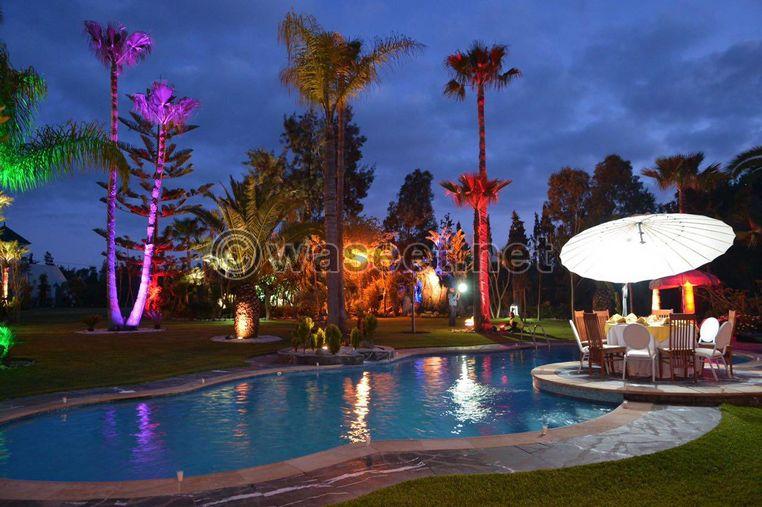 قصر مساحته 22000م²، بوزنيقة المغرب