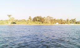 للبيع قطعة أرض على بحيرة قارون