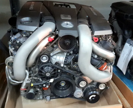 Spare parts for BMW and Mercedes
