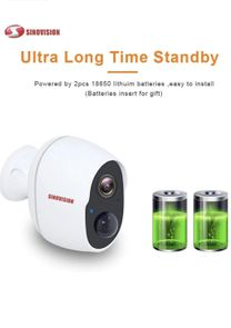 Surveillance camera without wires
