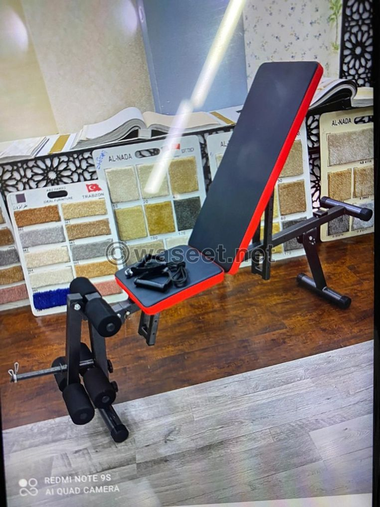 Brand new adjustable gym chair for sale 0