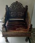 كرسي صناعة يد تحفة 2