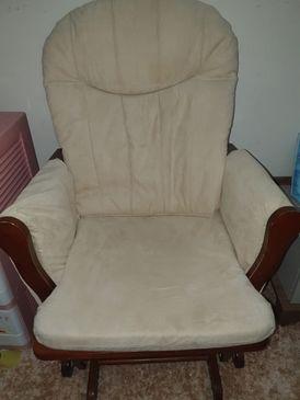 كرسي هزاز مع الستاند الخاص به استخدام بسيط شبه جديد