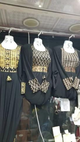 A quantity of abayas