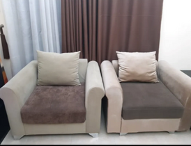 Large sofa + 2 chairs for sale