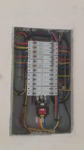 مقاول أعمال الكهرباء