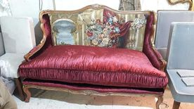 upholstery furniture, curtains