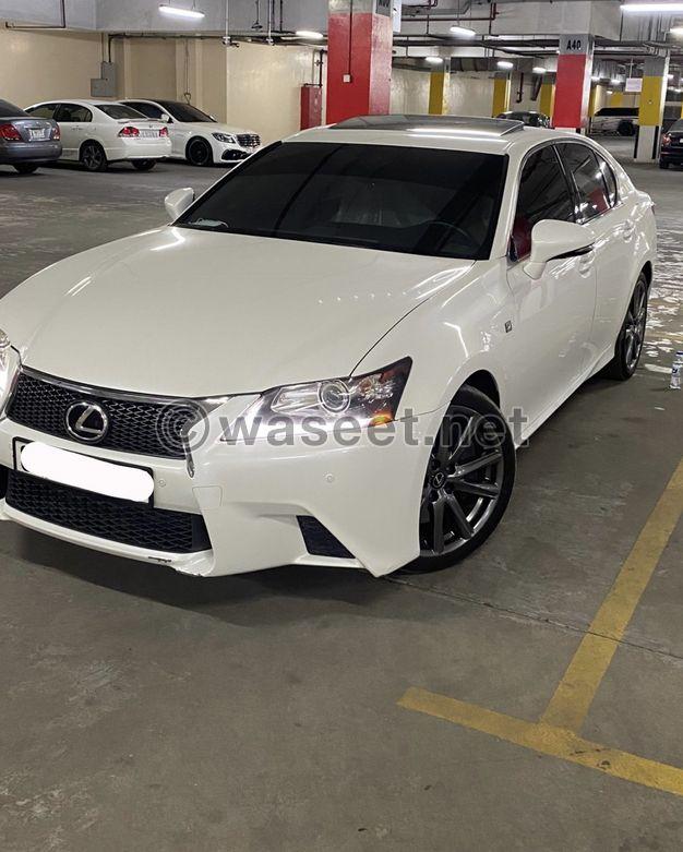 Lexus GS F Dye Agency 2013