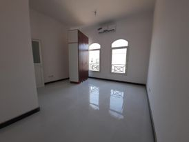 For rent in khalifa city apartment 1 room and lounge