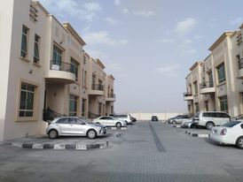 For Rent Studio in Khalifa city in a new upscale complex superstitious finishing