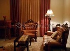For rent a furnished apartment Elmohandsen 140 M