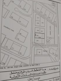 Land for sale on the public street in Al Dhait South 20,000 feet at a price