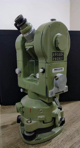 For sale a Swiss-made surveying device