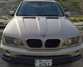 للبيع  BMW X5 2003 ذهبي