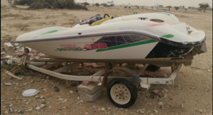 For sale jet ski needs maintenance without telling serious people only 3