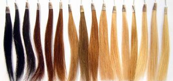 للبيع خصل شعر طبيعية