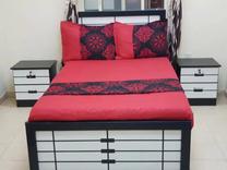 للبيع سرير مع رفوف جديد