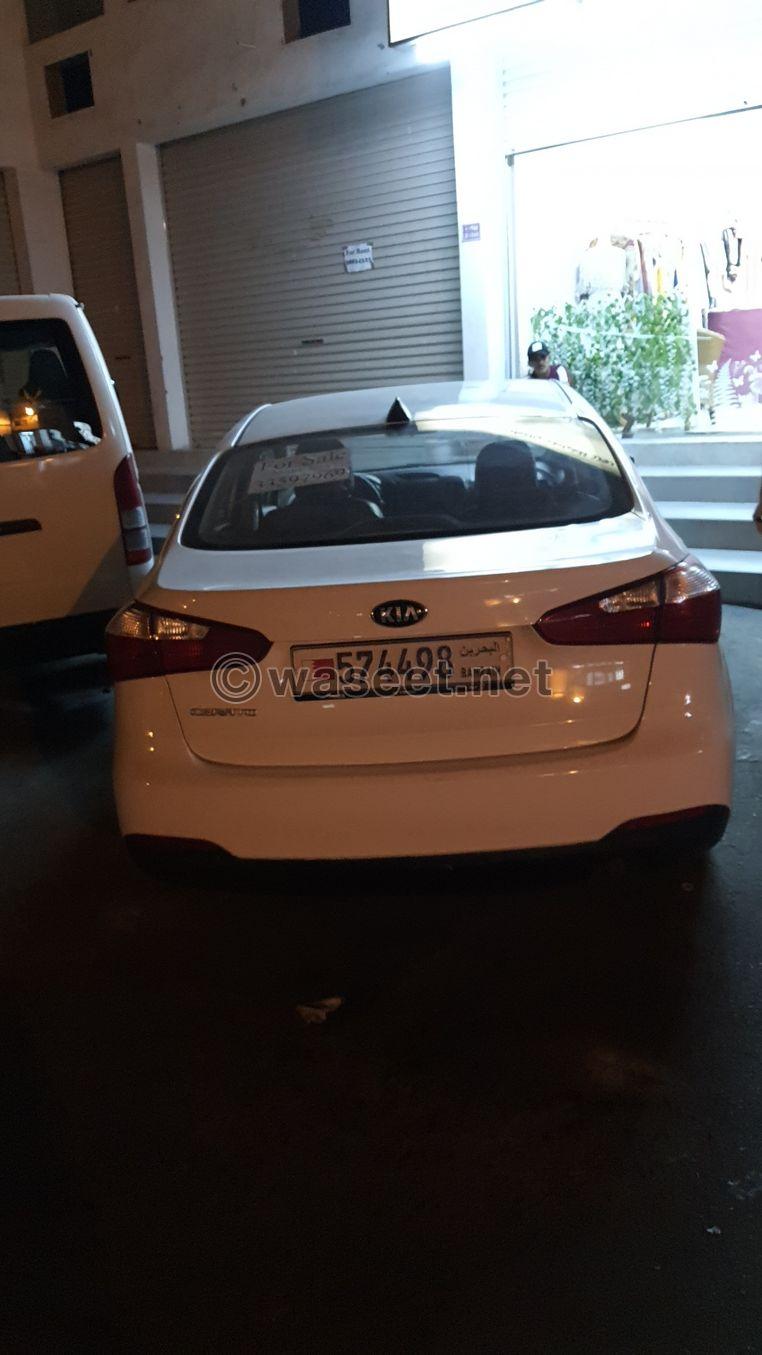 للبيع سيارة كيا سيراتو 2016