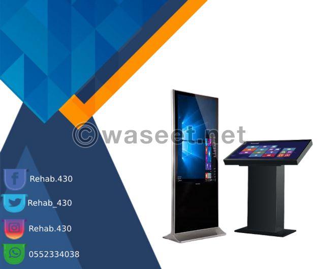 للبيع شاشات عرض تفاعلية