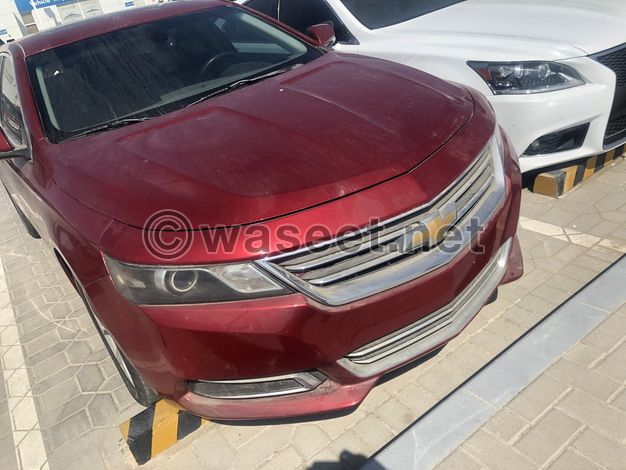 For sale Impala model 2014