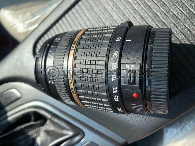 للبيع عدسة تامرون ١٨- ٢٠٠ لجميع كاميرات الكانون