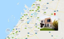 Family villa for sale in Sharjah on Emirates Road in installments