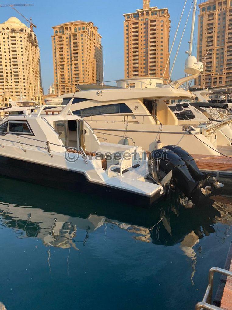 للبيع في قطر يخت حالول الطول ٣٦ قدم 2