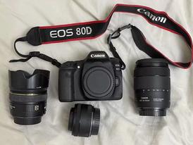 للبيع كاميرا كانون 80 D