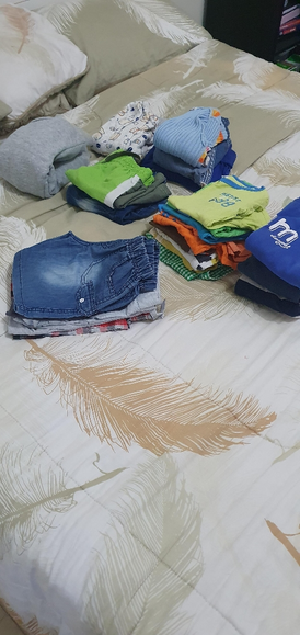 For sale a set of children's clothing for boys 7