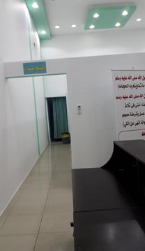 للايجار مركز حجامة 100م جديد بمدينة حائل...