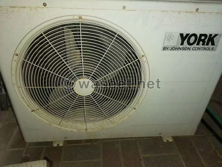 For sale used YORK air conditioner 1