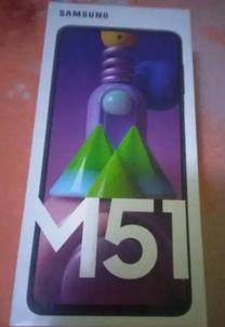 للبيع موبايل سامسونج M51