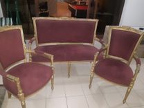 Wooden chairs set for sale