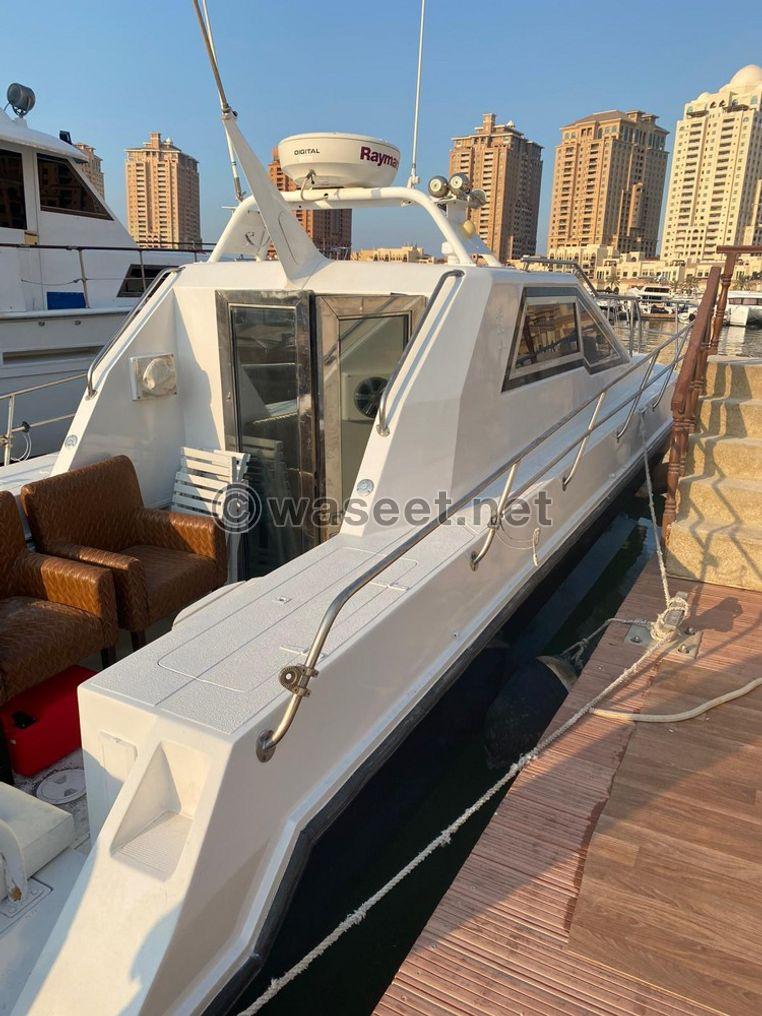 للبيع يخت في قطر حالول الطول ٣٦ قدم 4