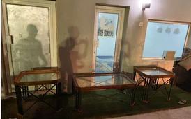 للبيع ٣ طاولات طقم 7
