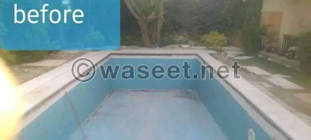 مارينا بولز لتنفيذ وصيانة حمامات السباحة