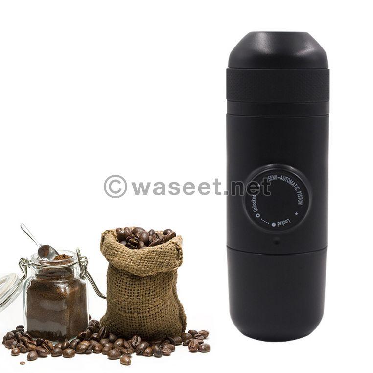 - ماكينة صنع قهوة الإسبريسو الصغيرة السعر مفاااجئه