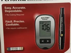 ماكينة فحص السكر نوع Accua Check