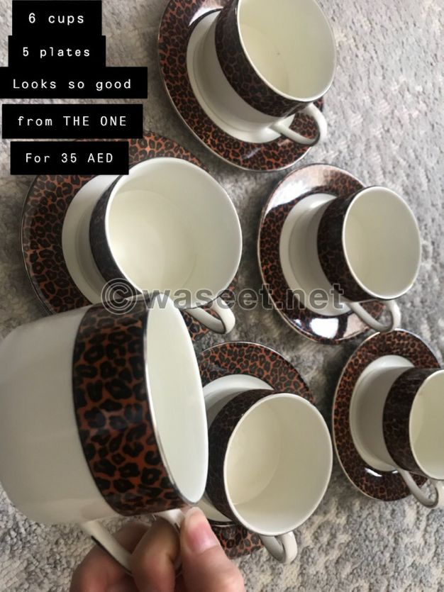 Dishwasher and cups sets for sale