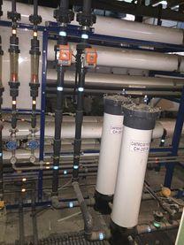 محطة تحلية مياه ابار وبحار ١٠٠٠ طن للبيع