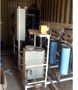 Water desalination plant for sale.
