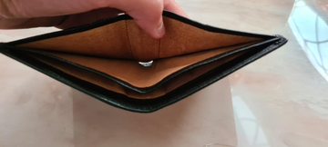 New leather Toyota wallet