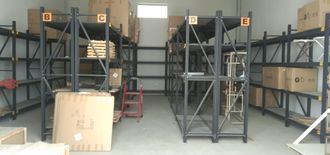 warehouse for rent in Mussafa first line from main street