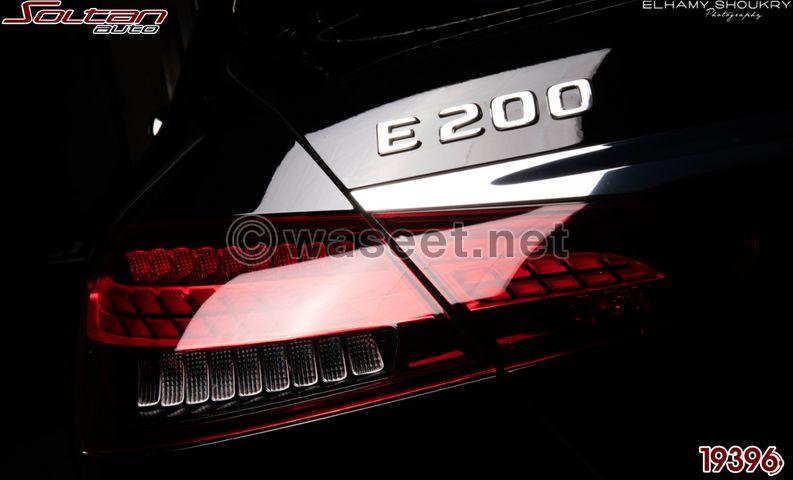مرسيدس E 200 موديل 2022 من سلطان أوتو 8