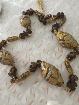 مسبحة للزينة glass hanging beads