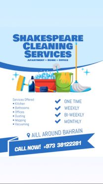 Ready to clean houses at the best prices