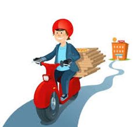 مطلوب سائق دراجة نارية